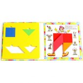 Hi-Q Toys Bilgelik - Tangram Kitap Seti 4'lü-2