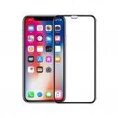 Iphone X Fultech Tempered Cam Ekran Koruyucu Siyah...