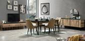 Charlene Yemek Odası Takımı-Masa Sandalye Konsol Tv Ünitesi