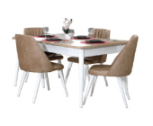 Willie Yemek Odası Takımı Masa+4 Adet Sandalye