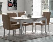 Wilma Yemek Odası Takımı Masa+4 Adet Sandalye