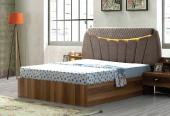 Jessie Yatak Odası Çift Kişilik Başlıklı Karyola (160x200)