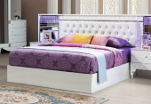 Pearl Yatak Odası Çift Kişilik Başlıklı Baza (160x200)
