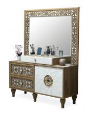 Bessie Yatak Odası Aynalı Şifonyer