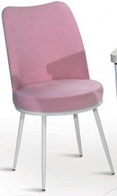 Lucy 4 Adet Metal Ayaklı Mutfak Salon Cafe Bahçe Sandalyesi