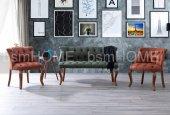Gloria Çay Seti Koltuk Takımı Salon Cafe Ofis Koltuğu 2+1+1