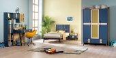 Alfie Genç Çocuk Odası Takımı Karyola+çalışma Masası+dolap