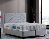 Sleep Fresh Çift Kişilik Set Baza+başlık+ortopedik Yatak 160x200