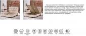 Multi Comfor Çift Kişilik Set Baza+Başlık+Ortopedik Yatak 180x200-4