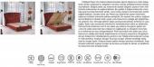 İnfinity Tek Kişilik Set Baza+Başlık+Ortopedik Yatak (100x200)-3