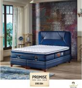 Promise Hasır Yaylı Tek Kişilik Yatak + Baza + Başlık 100x200