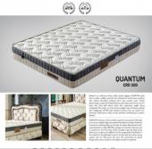 Quantum Ortapedik Tek Kişilik Yatak + Baza + Başlık 100x200-5