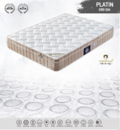 Platin Paket Yaylı Ortapedik Tek Kişilik Yatak (90x190)