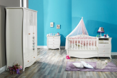 Lilyum-Bebek Odası-Asansörlü Uzun Sabit Beşik-3