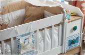 Single-Bebek Odası Takımı-Uzun Sallanır Beşik-3lü Dolap-Şifonyer-8