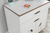 Masal-Mavi Pembe Kahverengi-Bebek Odası Şifonyer-4
