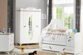 Masal-Mavi Pembe Kahverengi-Bebek Odası Şifonyer-5