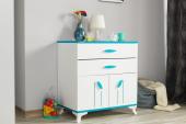 Masal-Mavi Pembe Kahverengi-Bebek Odası Şifonyer-6