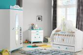 Masal-Mavi Pembe Kahverengi-Bebek Odası Şifonyer-7