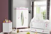 Masal-Mavi Pembe Kahverengi-Bebek Odası Şifonyer-8