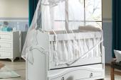 Hisar-Bebek Odası Takımı-Kısa Sallanır Beşik-3lü Dolap-Şifonyer-10