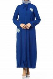 Yaprak Ferace Df 1164 06 Mavi