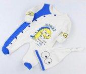 Bebek Şapkalı Tulum Takım Mini Zeyn 12