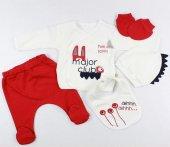 Bebek Hastane Çıkışı 5 Li Zıbın Seti Mini Zeyn 18