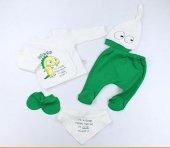 Bebek Hastane Çıkışı 5 Li Zıbın Seti Mini Zeyn 16