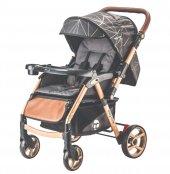 Baby Care BC-50 Maxi Çift Yönlü Lüks Bebek Arabası Gold Siyah