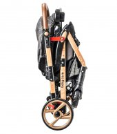 Baby Care BC-50 Maxi Çift Yönlü Lüks Bebek Arabası Gold Siyah-4