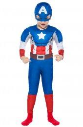 Kaptan Amerika Kostüm 4 6 Yaş