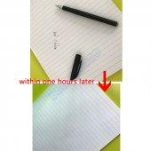 Uçan Mürekkepli, Yazısı Silinen Tükenmez Kalem  Mürekkebi Uçan kalem-11