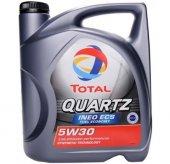 Total Quartz Ineo Ecs 5w 30 4 Litre Motor Yağı Ürt 2018 Garantili