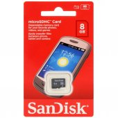Sandisk 8gb Microsdhc Class4 Hafıza Kartı