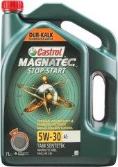 Castrol Magnatec Stop Start 5w 30 A5 7litre Motor Yağı Ürt 2019