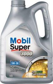 Mobil Super 3000 Fe 5w30 4 Litre Benzin Ve Dizel Motor Yağı