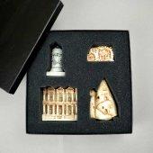 Minyatür Anadolu Set, Bergama, Efes, Kaya Mezarı, Peri Bacaları
