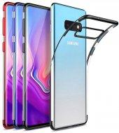 Samsung Galaxy S10e Kılıf Silikon Dört Köşe Lazer