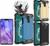 Huawei Mate 20 Lite Kılıf Çift Katmanlı Crash Darbe Emici