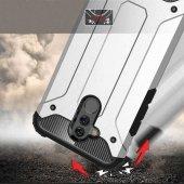 Huawei Mate 20 Lite Kılıf Çift Katmanlı Crash Darbe Emici-2