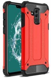 Huawei Mate 20 Lite Kılıf Çift Katmanlı Crash Darbe Emici-4