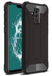 Huawei Mate 20 Lite Kılıf Çift Katmanlı Crash Darbe Emici-5
