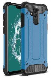 Huawei Mate 20 Lite Kılıf Çift Katmanlı Crash Darbe Emici-6