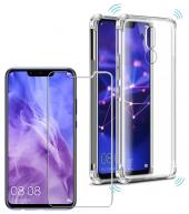 Huawei Mate 20 Lite Silikon Kılıf Darbe Korumalı Şeffaf