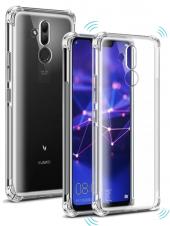 Huawei Mate 20 Lite Silikon Kılıf Darbe Korumalı Şeffaf-3