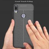 Asus Zenfone Max Pro ZB602KL Kılıf Silikon Özel Niss Deri Görünüm-8