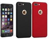 Iphone 7 Plus Kılıf Sert Kapak + Kırılmaz Ekran
