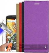 Motorola Moto G4 Plus Magnum Kapaklı Kılıf +...