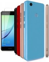 Huawei Nova Silikon Slim Premier Kılıf + Kırılmaz Cam